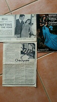 Vintage Knitting Pattern Booklets - Various