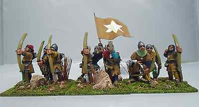 28mm Foundry Hundred Years War Archers with Longbow x 9. Painted. #1