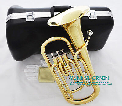Superior Baritone Horn Durable quality Brand New W/ Mouthpiece Case