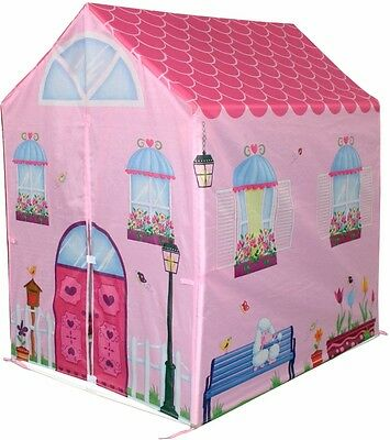 Girls Kids Play House Pink Toy Princess Tent Playhouse Children Gift Tent Castle