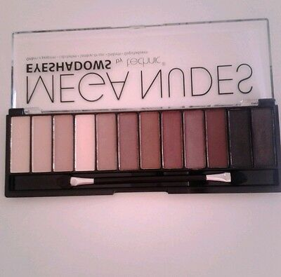 Palette eyeshadows meganudes by technic 12 colours