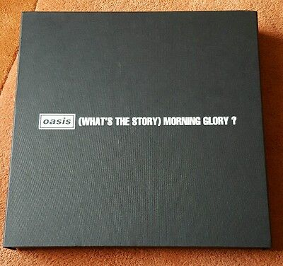Oasis - BOX ONLY from What's The Story Morning Glory Super Deluxe Boxset - RARE