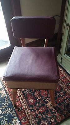 A Vintage Sewing Chair From Indiana 1926