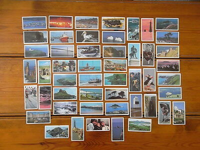 Brooke Bond Picture Cards - Discovering Our Coast - 1 To 50