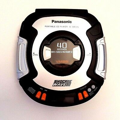 Panasonic SL-SW515 ShockWave Portable CD Player Discman 40 Sec Anti-Shock