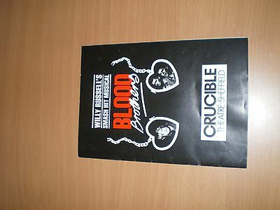 Rare 'Blood Brothers' Original Programme The Crucible Sheffield with Kiki Dee