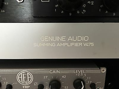 Analog Summing Mixer Neumann V475 (Genuine Audio)