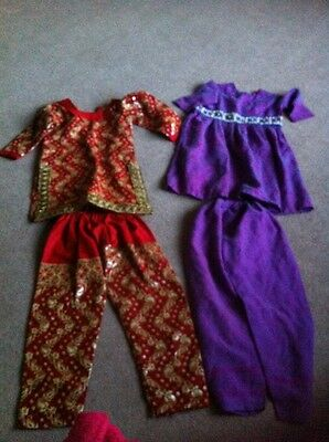 Two Asian Outfits . Age Approx 3-5