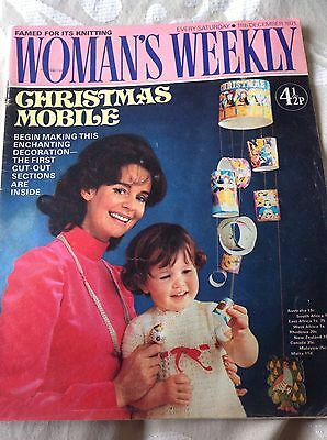 Woman's Weekly Magazine 11th December 1971