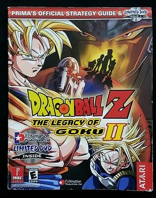 Dragon Ball Z The Legacy of Goku ll Official Strategy Guide