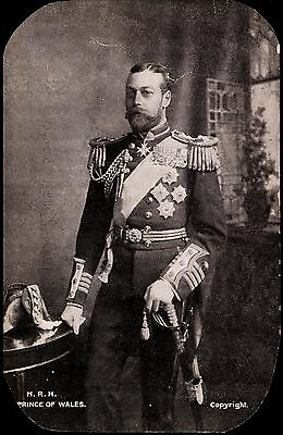 Vintage Postcard  - H.r.h.prince Of Wales By Gd & Dl Unposted