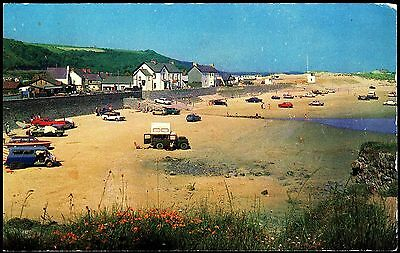 Postcard -Pendine Sands  - Series  Archway  - Posted 1974 Stamped Wales