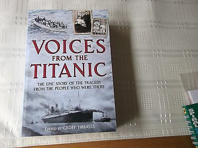 Maritime Book.titanic,voices From The Titanic,paperback