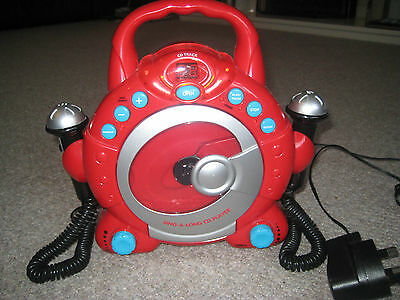 ELC CD Player - Red - with two microphones