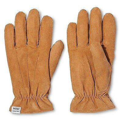 WESC Men's Reson suede glove Large brown. Shipping is Free