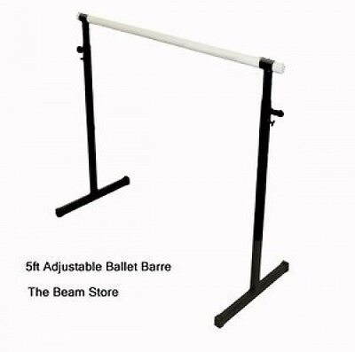 1.5m Adjustable Height Ballet Barre. Delivery is Free