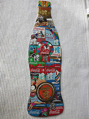 12 Coca Cola Olympia London 2012 Paraolympic Botte Pins (Set)