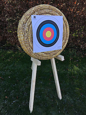 Egertec 65cm Straw Archery Target, Manufacturered In The UK