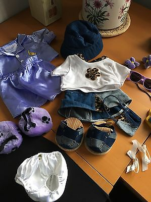 Build A Bear Bundle Of Clothes (girls)