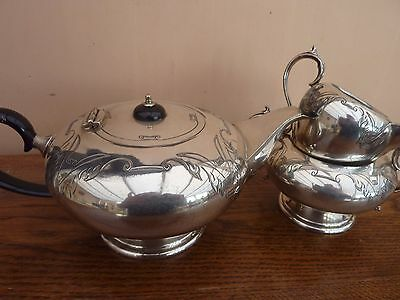 Silver Plated Tea Service E P N S Liberty Style 1940s