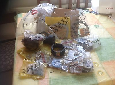 Assorted JCB Tractor Spares, Seals And Mountings
