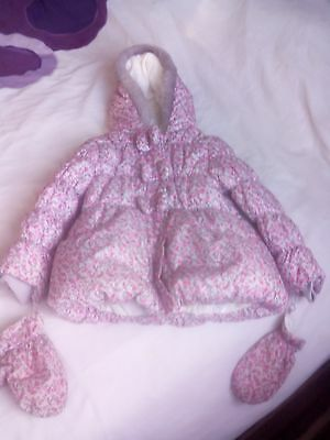 Girls Winter Padded Coat Age 5-6 George