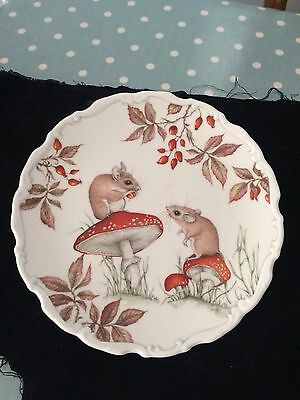 Royal Albert Plate The Country Collection Autumn Playtime