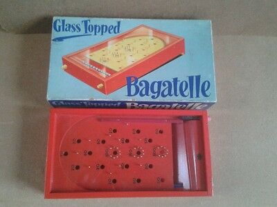 Vintage. Glass Topped Bagatelle. CHAD VALLEY.