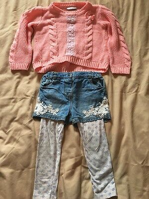 Girls Outfit Age 3-4 Years