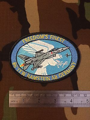 Original Cold War F-16 Pilots Patch, 86 TFW, NATO Ramstein Airbase Germany