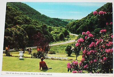Glen O' the Downs from Glenview Hotel Co. Wicklow Ireland. By John Hinde Ltd.