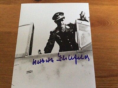 Herbert Ihlefeld Signed Photo 8x 6