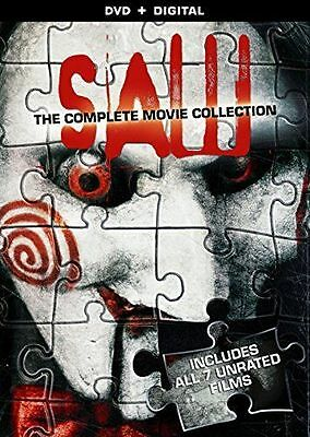 SAW - Complete 1 2 3 4 5 6 7 Final Cut Film Collection Box Set (NEW DVD)