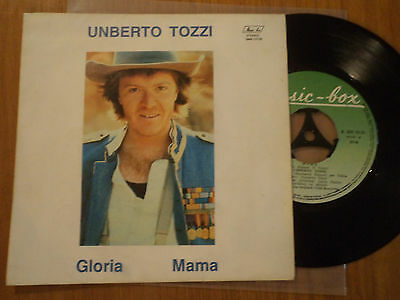 UNBERTO TOZZI rare GREEK 7'' with p/s MISPELLED UMBERTO 1982 data ITALY  ITALIAN