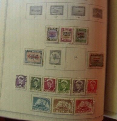 Lot #1 Greenland Early Collection - Issues 1945 - 1955