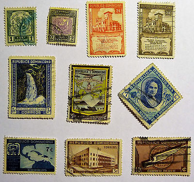 Dominicana / Dominican Republic Old / Early Selection of Stamps lot657