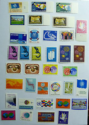 United Nations Collection Of Stamps MINT lot658