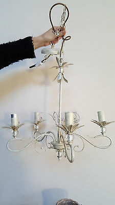 Endon Shabby Chic Hanging Pendant Chandelier 5 Lights New Unboxed