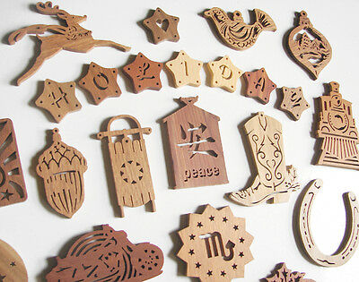 Creative Scroll Saw Woodworks Crafts 75 Holiday Christmas Ornament Patterns PDF