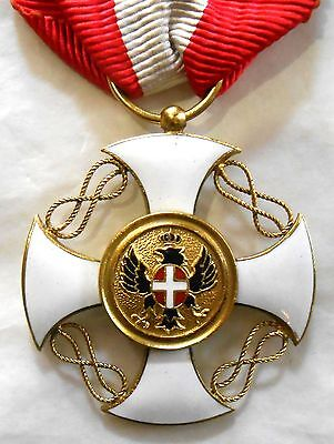 Kingdom Italy Gold Order of the Crown of Italy - original
