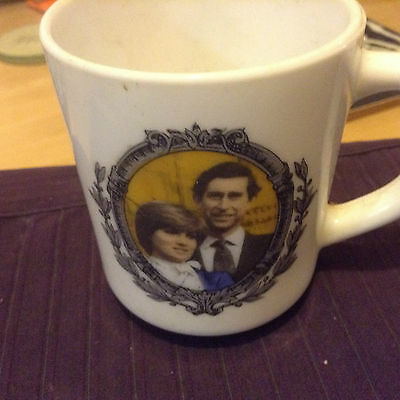 collectors mug 2 commemorate marriage of the prince of wales& lady diana spencer