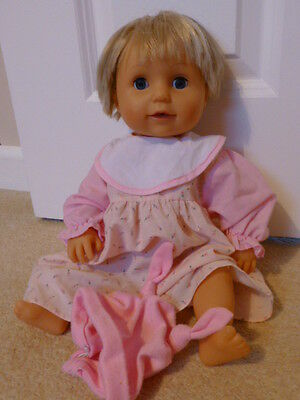 Tiny Tears vinyl baby doll