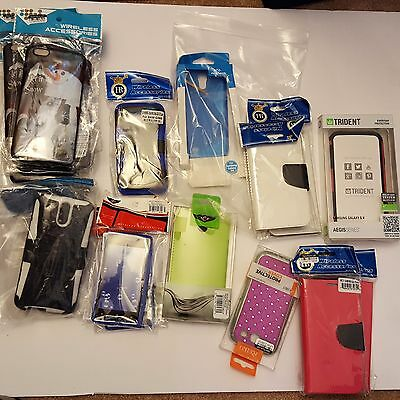 Cell Phone Case Lot - 18 cases (Samsung, Iphone 6 plus, HTC)