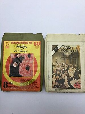 Two 8 Track Cassettes