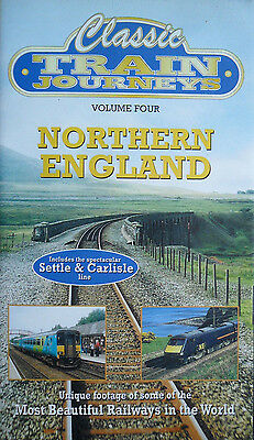 Classic Train Journeys 4 - Northern England - Cab Rides - VHS Railway Video