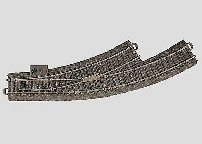Marklin - C-Track -Left curved Turnout (manual) - R1