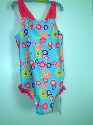 Girls  Swimsuit Set Age 3-4 Years Bnwt- Freepost