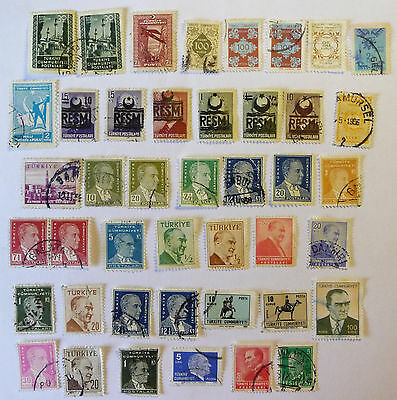 Turkey Collection of Old / Early Stamps lot 578