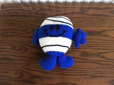 Mr Bump Hand Knitted Toy
