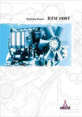 Deutz B-FM 1008-F Engines Workshop Manual (B209)